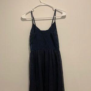 Hollister blue sequin dress